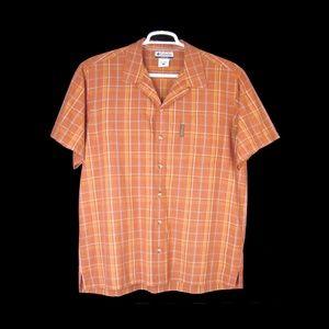 Columbia Men's Plaid Cotton Camp Shirt - L